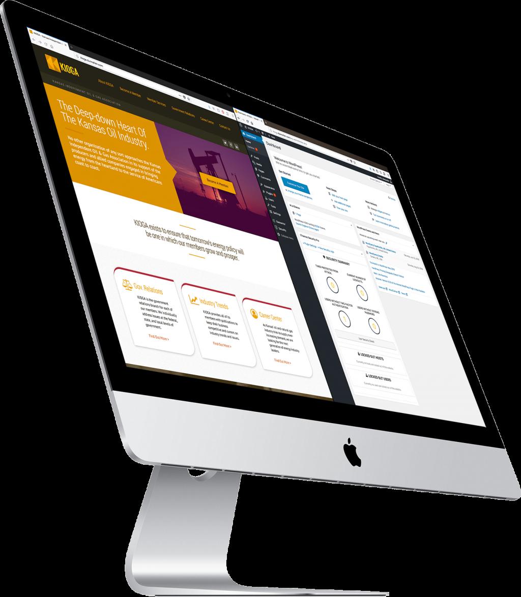 Wichita website design and development WordPress