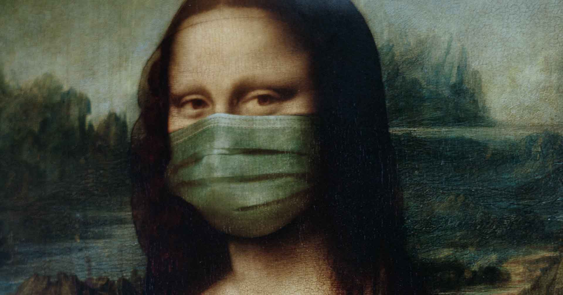 Mona Lisa Covid 19 Face Mask