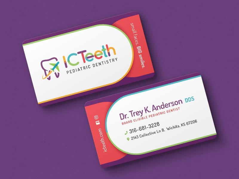 Icteeth Business Cards