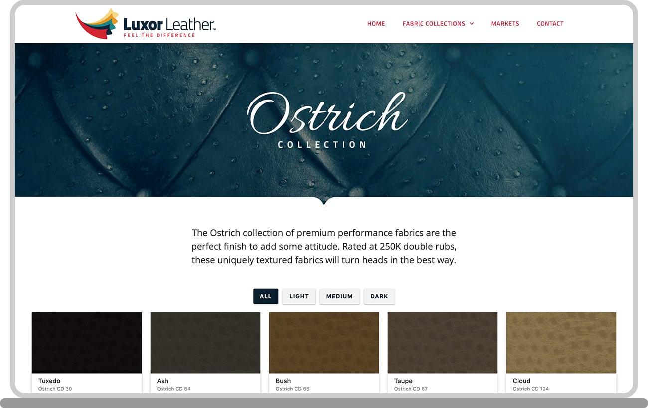 Luxor Leather Laptop Image 1