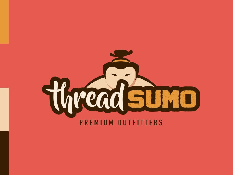 Thread Sumo Logo Brand Colors