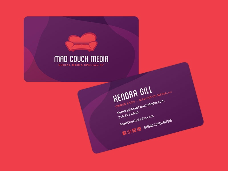 Mad Couch Media Business Cards