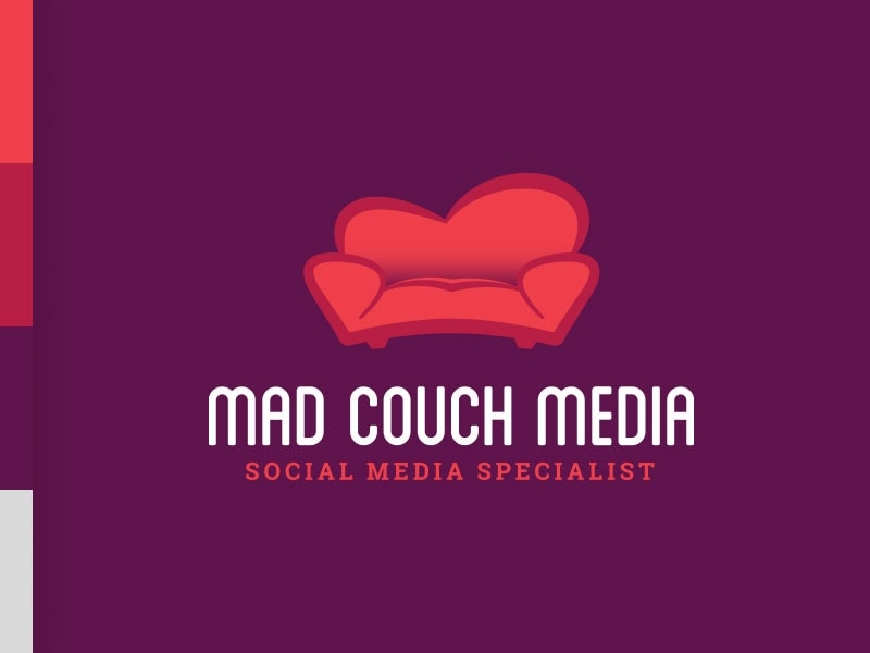 Mad Couch Media Logo Brand Colors