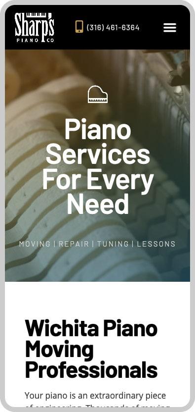 Sharps Piano Co Mobile Image 1