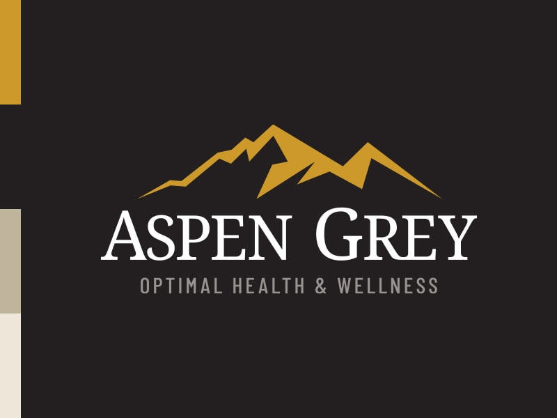 Aspen Grey Md Logo Brand Colors