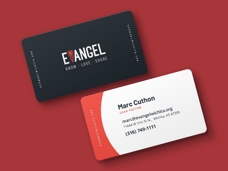 Evangel Assembly Business Cards