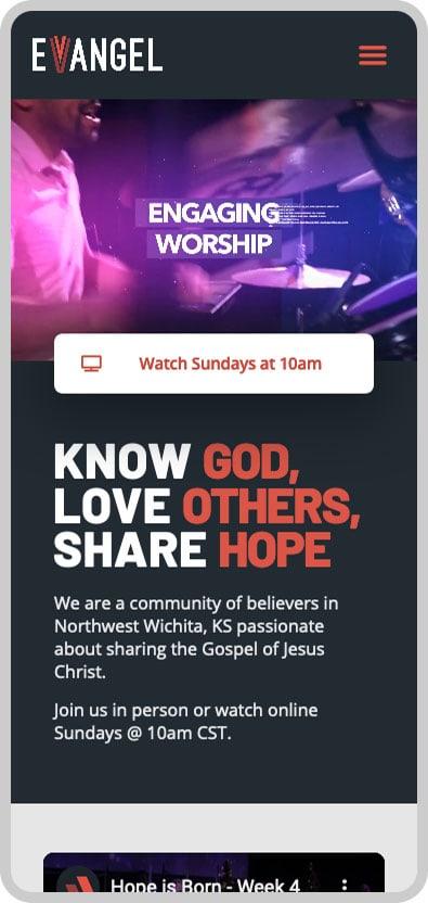 Evangel Assembly Mobile Image 1