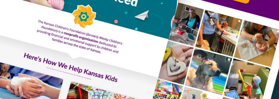 Website Project Ks Childrens Foundation